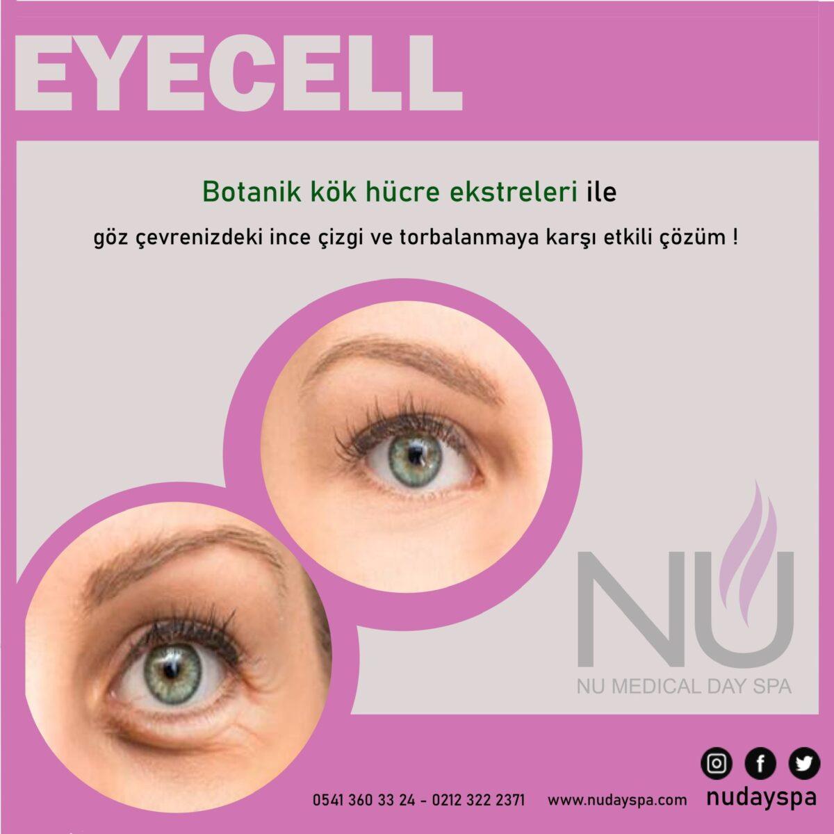 eyecell göz çevresi bakımı