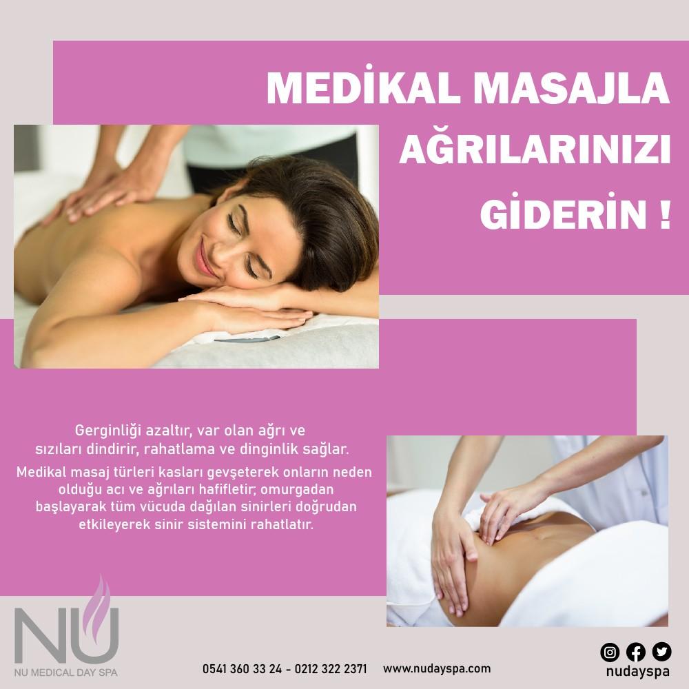 medikal masajın faydaları